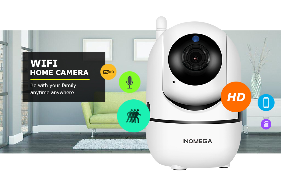 720p, 1080p IP Camera with People Tracking function