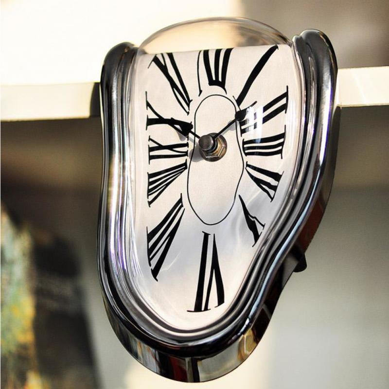 Melted Shelf Clock