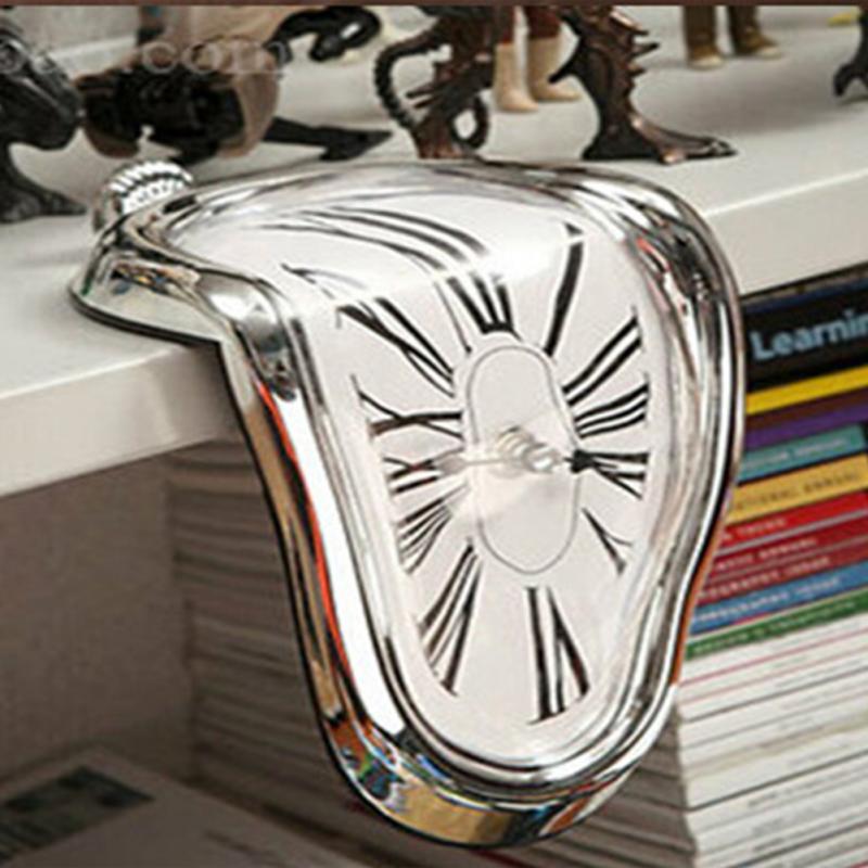 Melted Shelf Clock