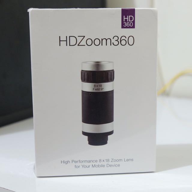 HD Zoom Smart Phone Lenz